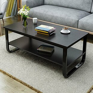 Bargain Horrell 2 Tier Polished Surface Multi Function Coffee Table By Wrought Studio