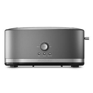 4 Slice Metal Toaster