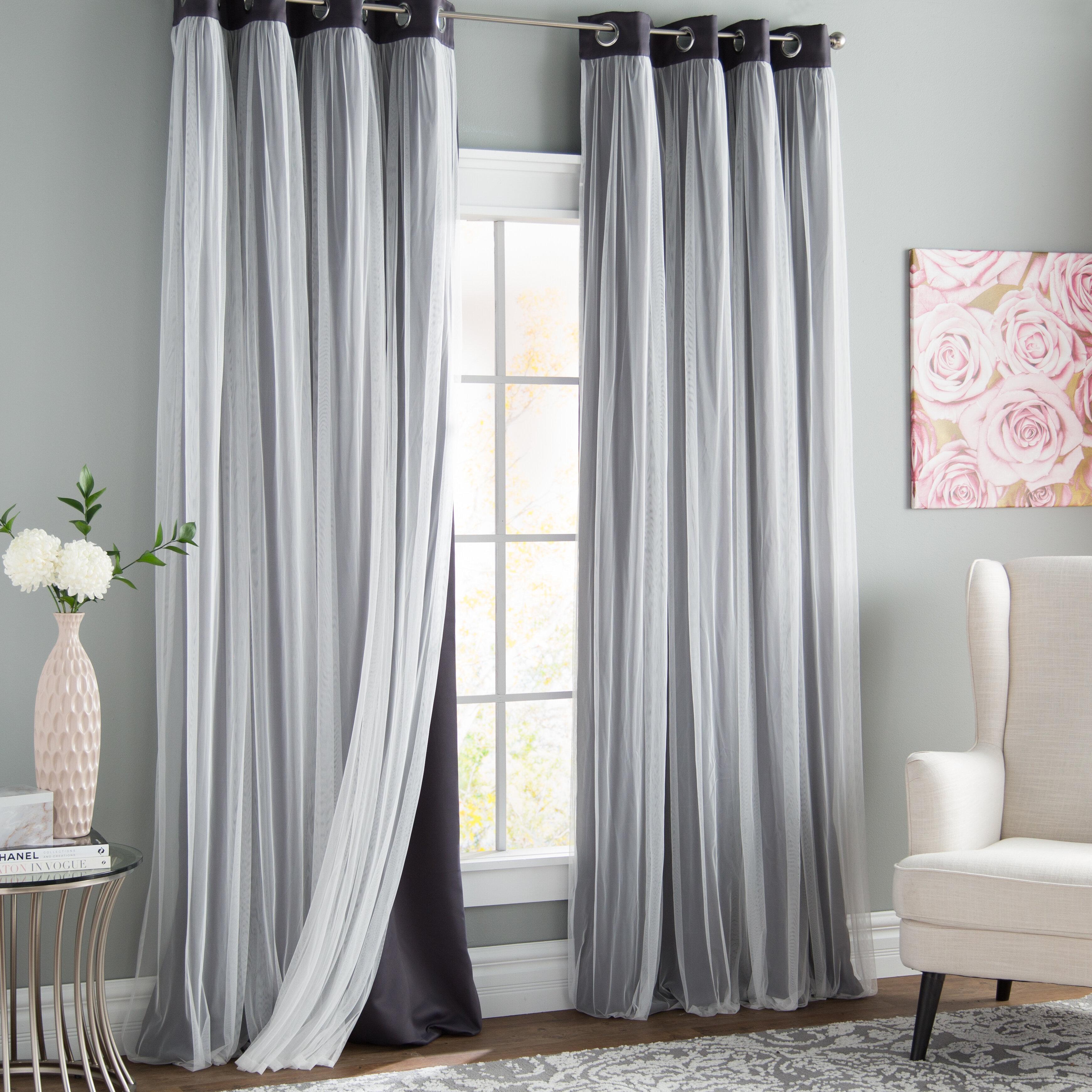 108 Inch Curtains Drapes Wayfair