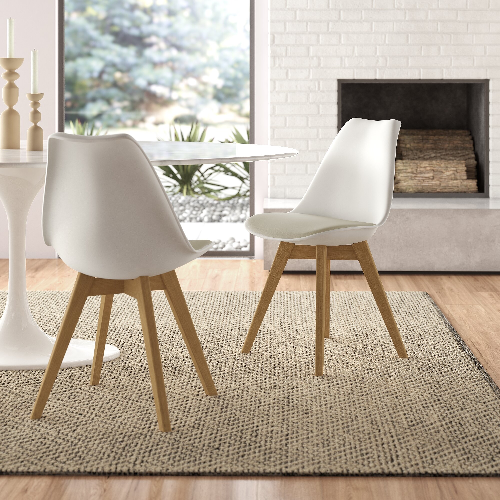 Allmodern Kurt Upholstered Side Chair Reviews Wayfair
