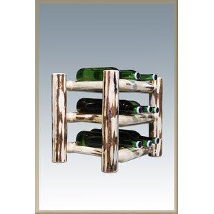 Loon Peak Abordale 9 Bottle Tabletop Wine Rack