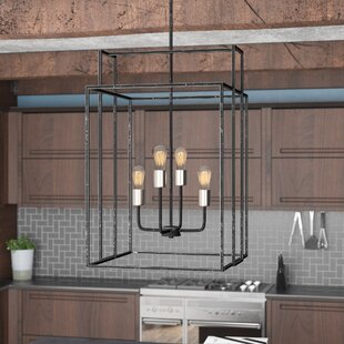 Jefferson 4-Light Square/Rectangle Chandelier