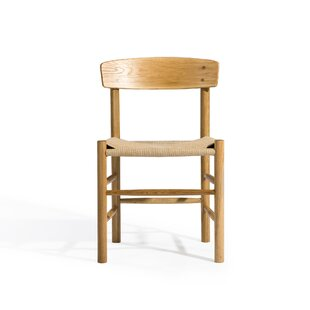 Meade Solid Wood Dining Chair by August G..