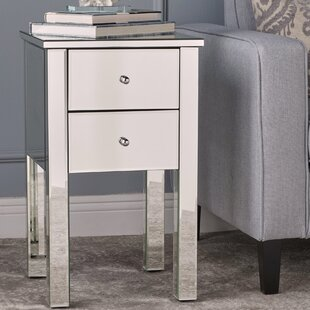 Dalveen Mirror End Table