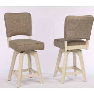 Steptoe Upholstered 29 Swivel Bar Stool (Set of 2)