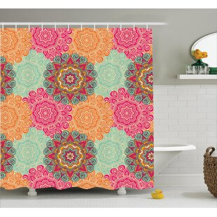 Delrick Decor Antique Mandala Single Shower Curtain