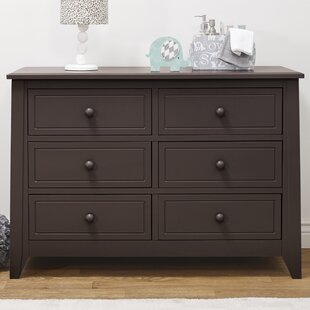 Brittany 6 Drawer Double Dresser by Sorelle
