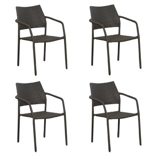 Sales Mask Stacking Garden Chair (Set Of 4)