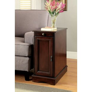 Bracey End Table with Storage