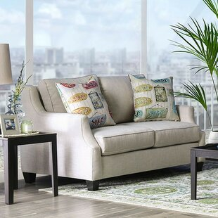 Best Deals Clements Loveseat by Rosecliff Heights Reviews (2019) & Buyer's Guide