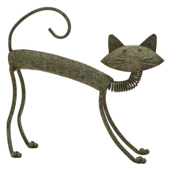 Metal Cat Statue Wayfair