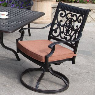 Searching for Berenice Swivel Patio Dining Chair with Cushion Price comparison