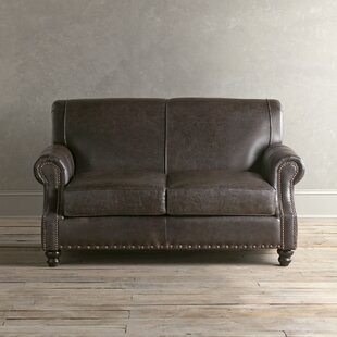 Inexpensive Landry Leather Loveseat by Birch Lane™ Heritage Reviews (2019) & Buyer's Guide