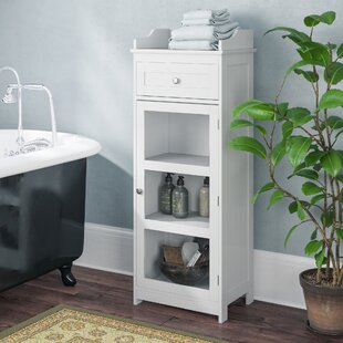 45 X 119cm Free Standing Tall Bathroom Cabinet By Symple Stuff
