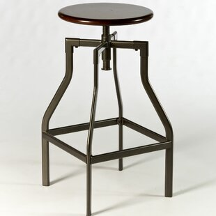 Cyprus Adjustable Height Swivel Bar Stool Hillsdale Furniture