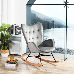 Channel Rocking Chair By Hashtag Home