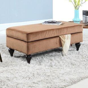 Winston Porter Keefe Upholstered Storage Bench