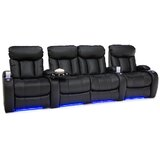 Home Theater Row Seating (Row of 4 with Middle Loveseat)