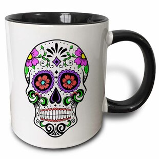 Admiral Sugar Skull Coffee Mug