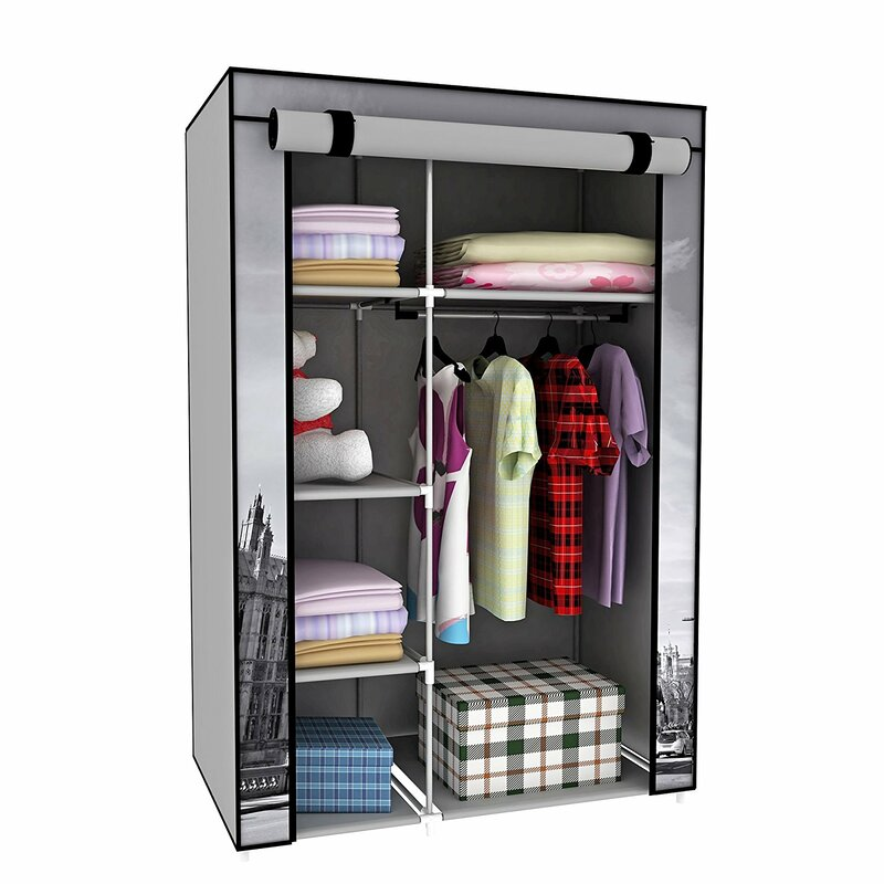 42 W Cornelison Big Ben Portable Cloth Wardrobe
