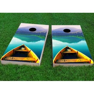 Custom Cornhole Boards Boat Cornhole Game (Set of 2)