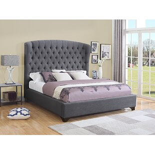 Celestine Upholstered Panel Bed by Darby Home Co
