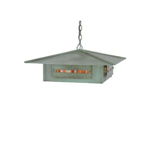 Meyda Tiffany Moss Creek Creekside 4-Light Pendant