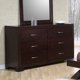 Linkwood Double Dresser in Rich Merlot