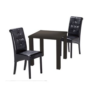 Barrar Dining Table And 2 Chairs By Metro Lane
