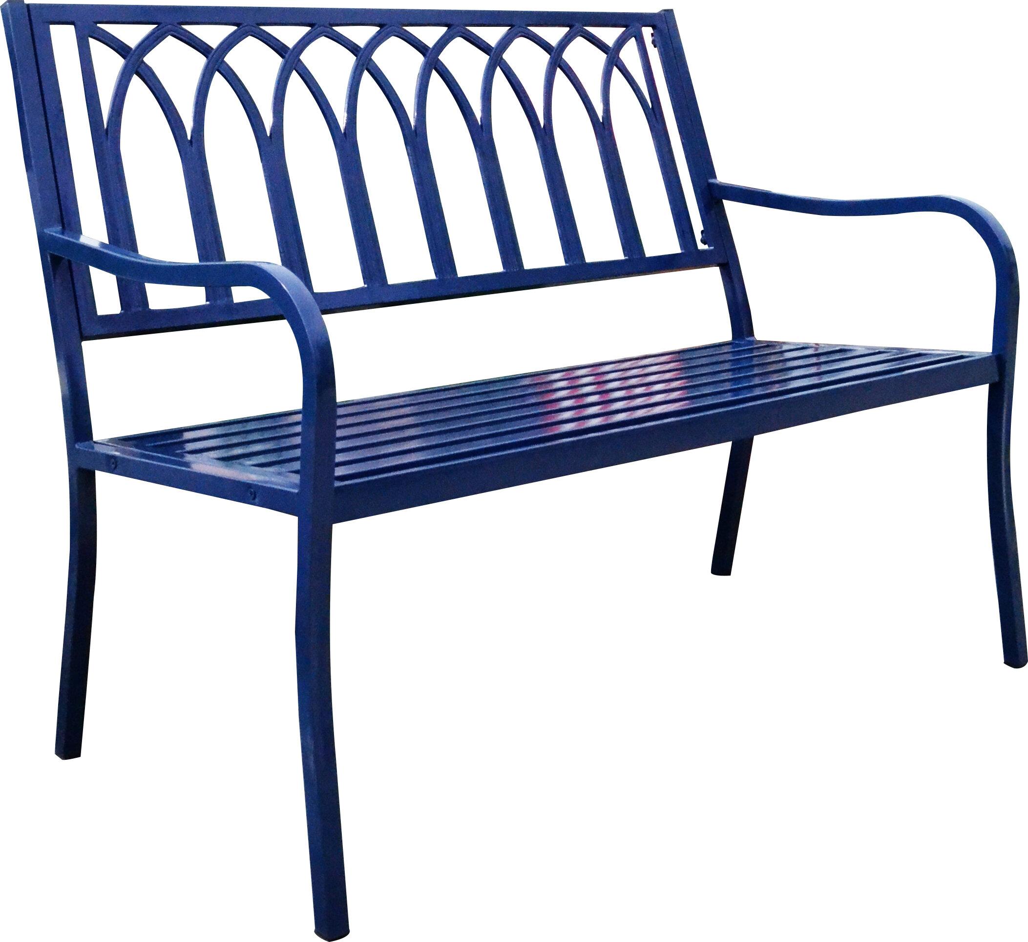 Magnificent Blankenship Steel Garden Bench Ibusinesslaw Wood Chair Design Ideas Ibusinesslaworg