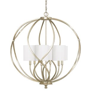 House of Hampton Cecil 6-Light Globe Chandelier