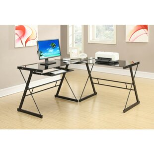 Klima 3 Piece Sectional L-Shape Work Station Set by Symple Stuff Wonderful