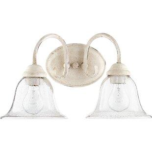 Bernardston 2-Light Vanity Light By Fleur De Lis Living