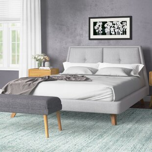 Reviews Gaillard Queen Upholstered Platform Bed by Ivy Bronx Reviews (2019) & Buyer's Guide