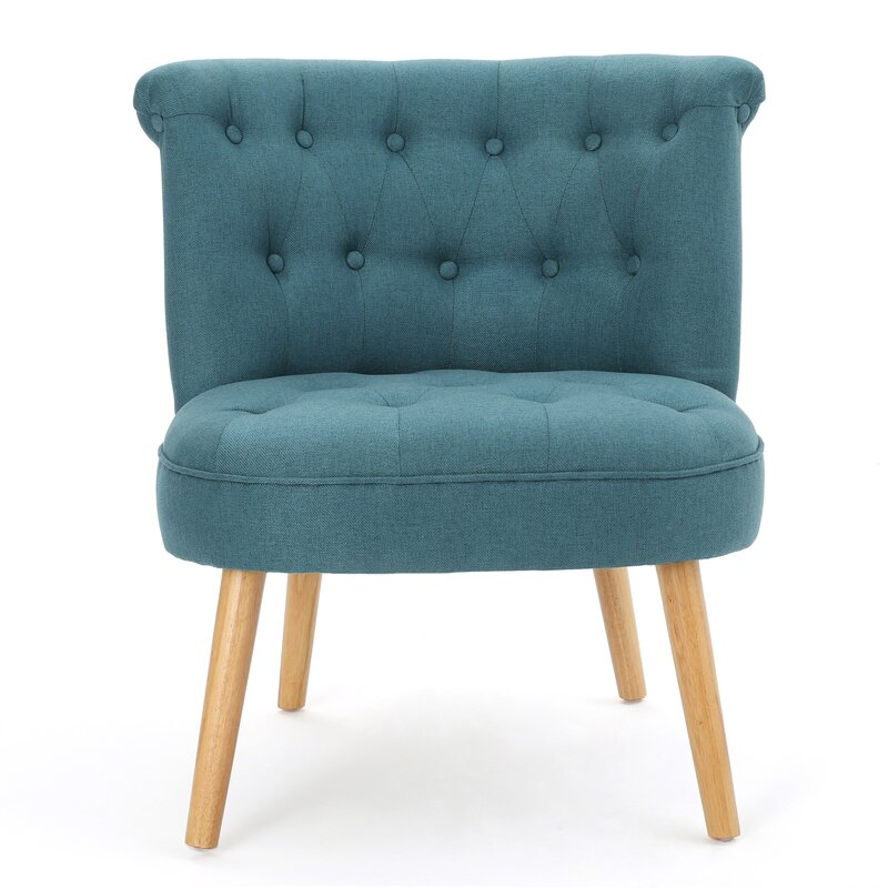 Iris Side Chair Upholstery: Warm Beige