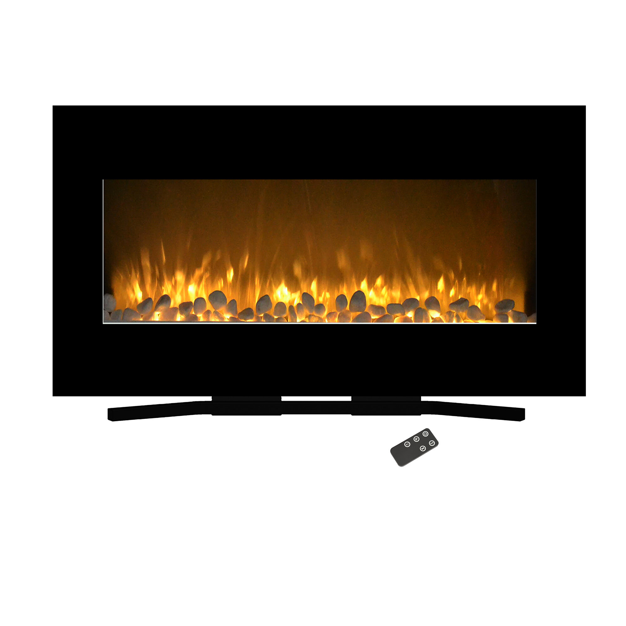 Awesome Rawlings Flat Wall Mounted Electric Fireplace Download Free Architecture Designs Griteanizatbritishbridgeorg