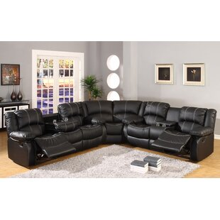 Hattie Right Hand Facing Comfort Reclining Sectional