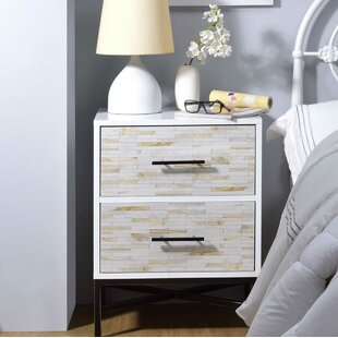 Pawlowski 2 Drawer Nightstand