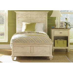 Bridgeview Wood Frame Panel Bed by Beachcrest Home