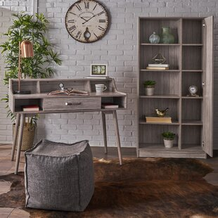 Fenske Mid Century Modern 2 Piece Wood Desk Office Suite By Wrought Studio
