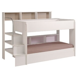 Bibop 2 Twin over Twin Bunk Bed with Trundle by Parisot