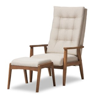 Wholesale Interiors Rio Lounge Chair and Ottoman