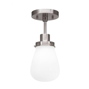 Sari 1-Light Semi Flush Mount by Ivy Bronx