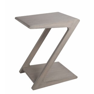 Reviews Jubilee Z Side End Table by Highland Dunes