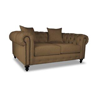 Esters Plush Deep Chesterfield Sofa