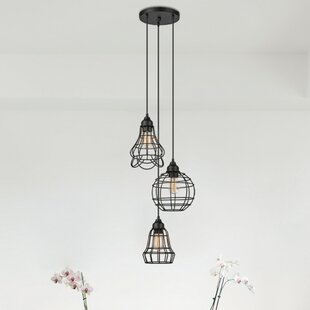 Barbosa 3-Light Cluster Pendant by Williston Forge
