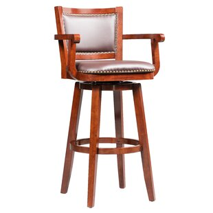 Cammy Swivel Bar Stool by Darby Home Co