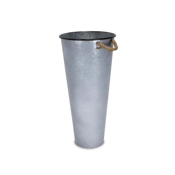 Tall Metal Bucket Wayfair Ca