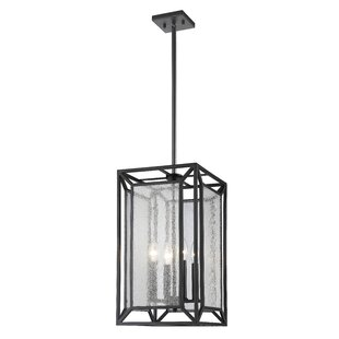 Silverstein 4-Light Square Pendant by Brayden Studio