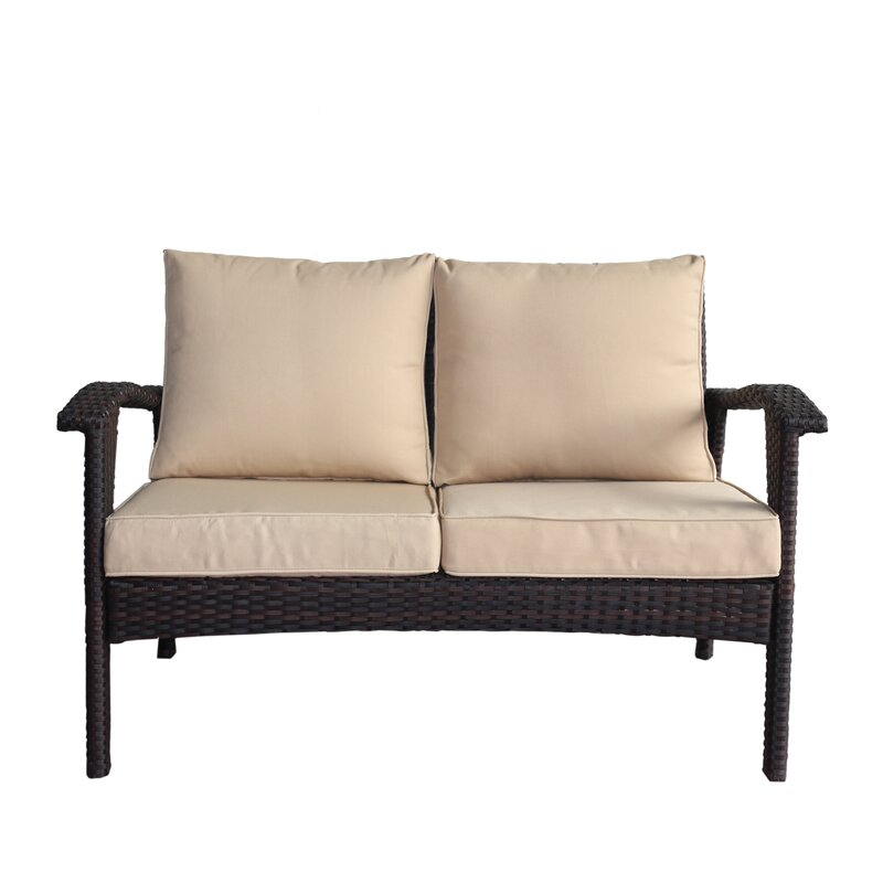 Hagler 2 Piece Sofa Seating Group with Cushions